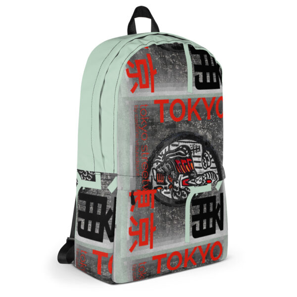 """Stand out from the crowd with this backpack with an with unique """"Tokyo Street Wear"""" urban style design inspired by the city streets you walk on."""