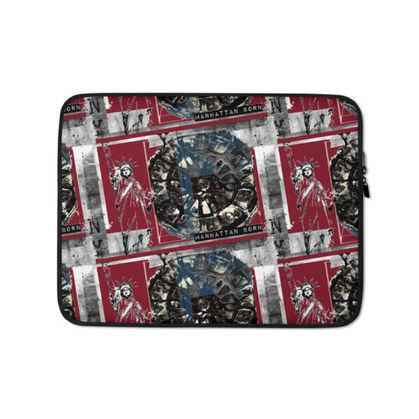 "Laptop Sleeve with urban style ""NYC Street Wear"" design. Protect your laptop in style—get this snug, lightweight laptop sleeve!"