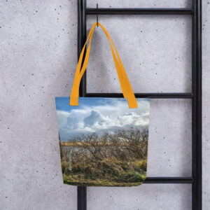 A spacious and trendy tote bag with #CVOriginals Clouds print from the #superholland collection to help you carry around everything that matters.