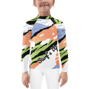 This colorful Active Outdoor Co. for Kids rash guard protects the little ones from the elements with its sun-protective fabric.