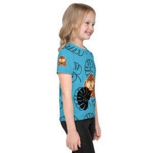 Get the t-shirt for your kids with a colorful design that looks great, and allows your jungle monkey to participate in all of their favorite activities.