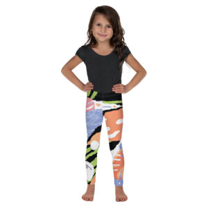 These Active Outdoor Co. Kids leggings are just perfect for active kids. Let them run around, get messy, they will never lose their vibrant Hawaii print.