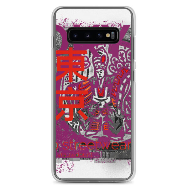 This sleek iPhone case with TOKYO Street Wear design protects your phone from scratches, dust, oil, and dirt. It has a solid back and flexible sides.