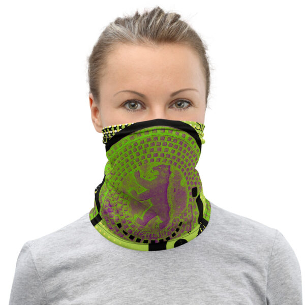 Up your acessory game with this neck gaiter - a versatile accessory that can be used as a face covering, headband, bandana, wristband, and neck warmer