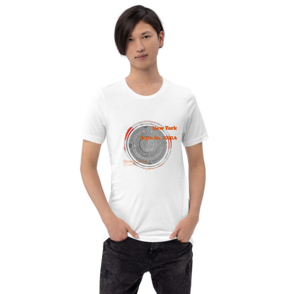 This t-shirt has an urban style design inspired by the NYC city streets you walk on. This comfortable t-shirt feels soft and lightweight.