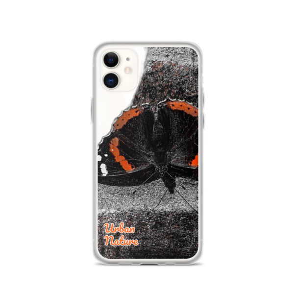 This sleek iPhone case with Urban Nature Wear design protects your phone from scratches, dust, oil, and dirt. It has a solid back and flexible sides.