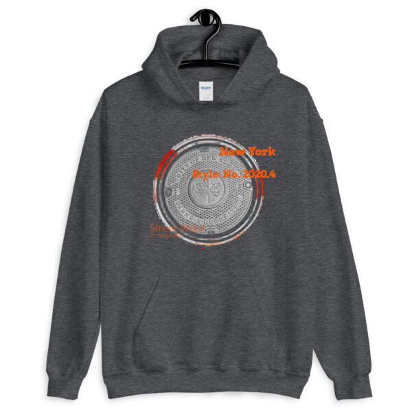 This hoodie has an urban style design inspired by the NYC city streets you walk on. It's your cozy go-to hoodie to curl up in, perfect for cooler evenings.