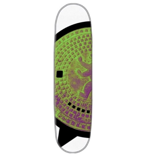 Create your skateboard deck with a unique CV Signature Berlin street wear design. Or add it as a unique piece of art on your wall.