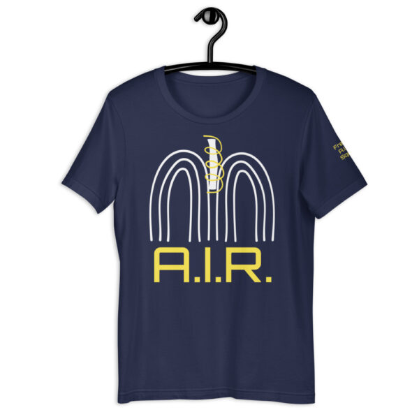 Support research into broken lungs + raise awareness about air quality. I designed some garments people can use to start a conversation about lung disease and local air pollution to raise awareness and funds.